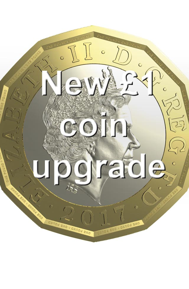 £1 Coin Upgrade, Contour, C120P, Mars Cashflow and MS25