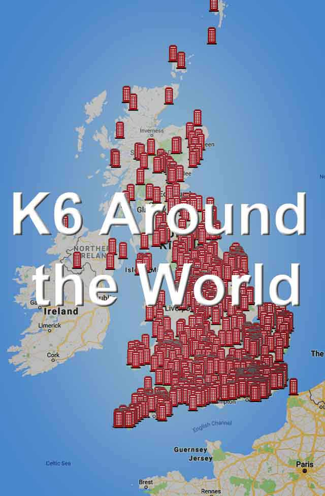 K6 around the World