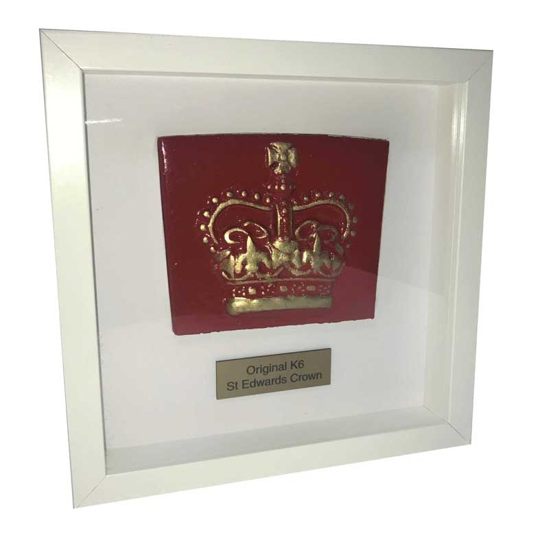K6 Framed Scottish and St Edwards Crown