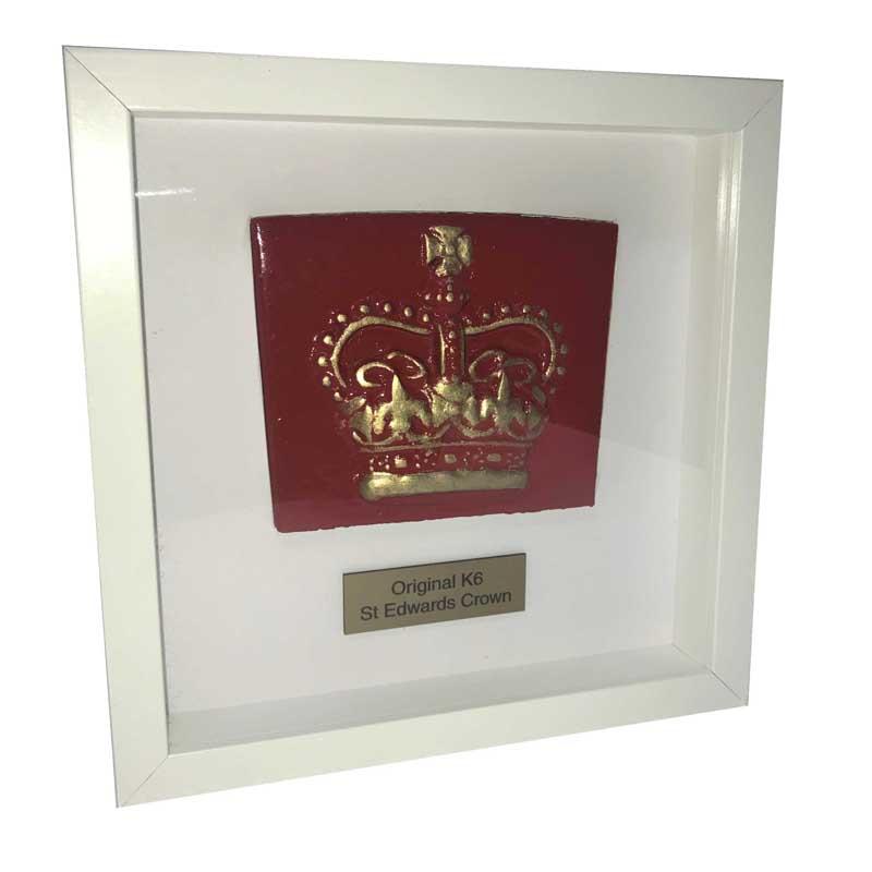 Framed K6 St Edward's Crown - Original
