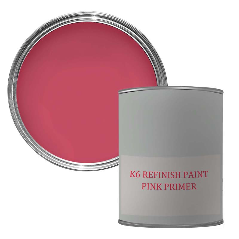 Telephone Box PAINT - PINK PRIMER