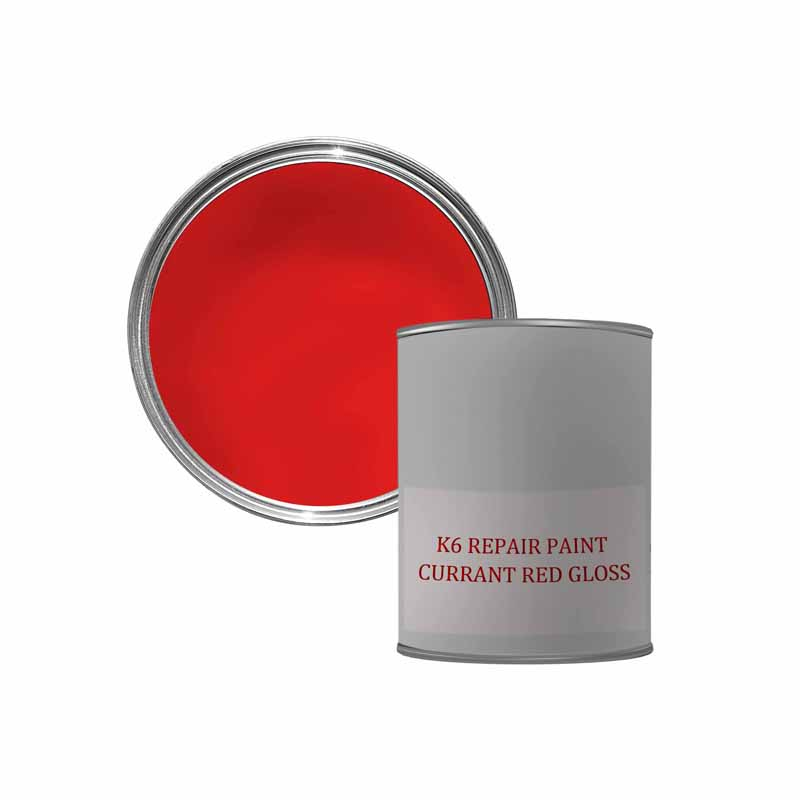 K6 GLOSS REPAIR PAINT - RED 500ML