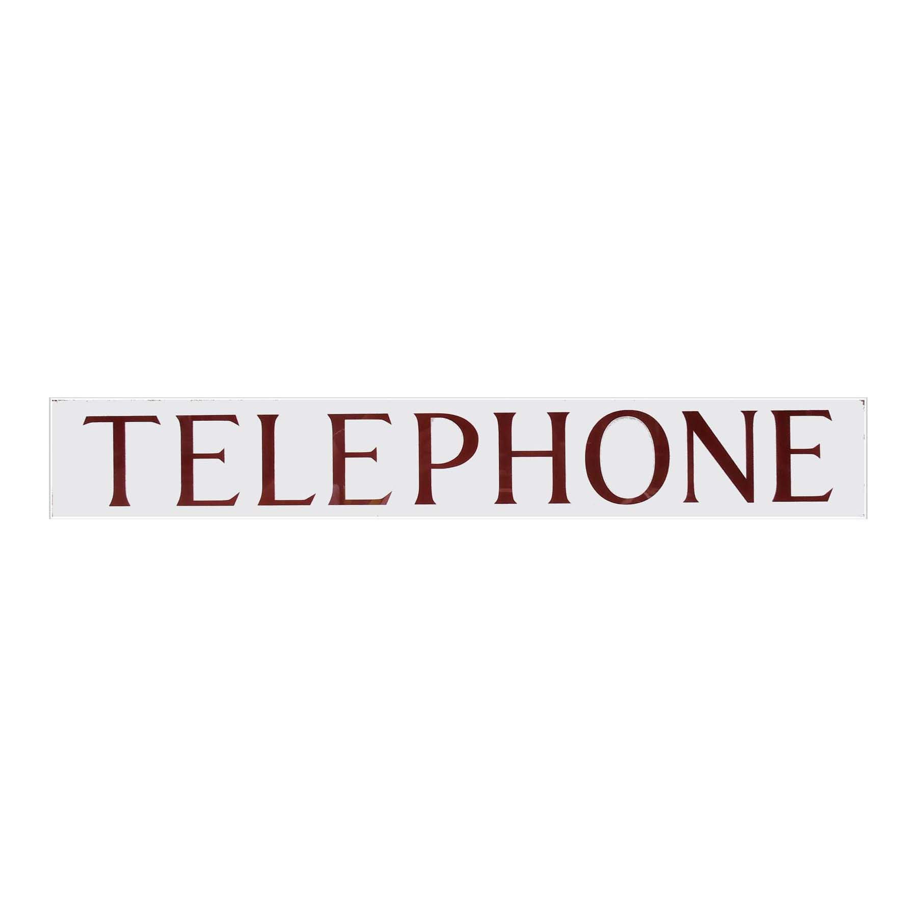 RED TELEPHONE BOX FRAMED TELEPHONE SIGN K6 BOOTH KIOSK