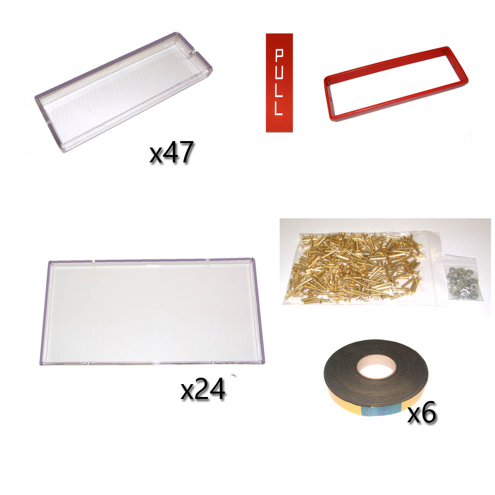 K6 GLAZING KIT OPTION C