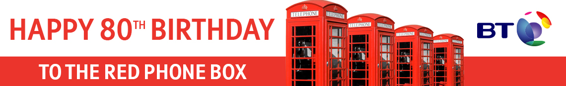 Happy 80th Birthday to the Red Phone Box
