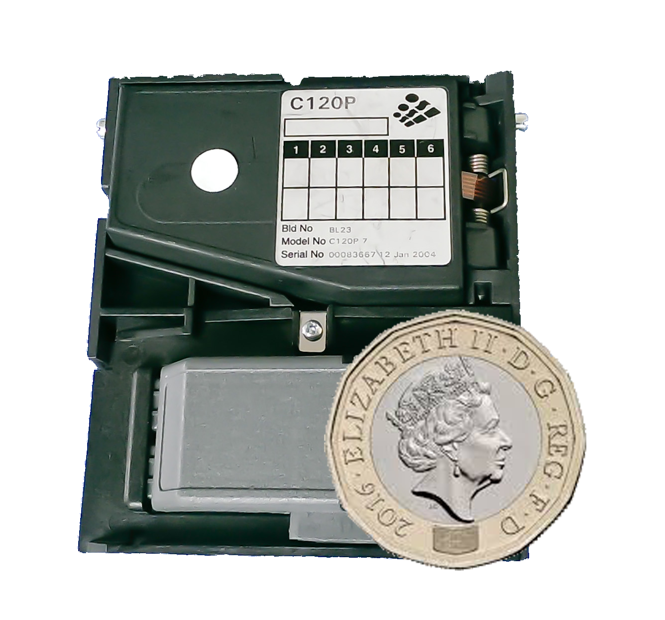 C120P Validator - New £1 Upgrade